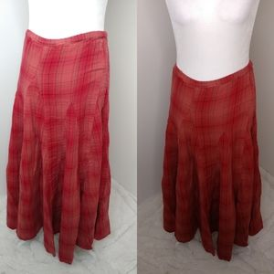 Free People cp shades maxi skirt size xs